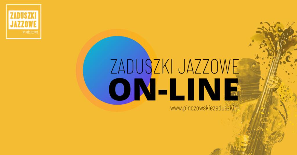 grafika reklamująca 16. Zaduszki Jazzowe w Pińczowie w serwisach internetowych on-line